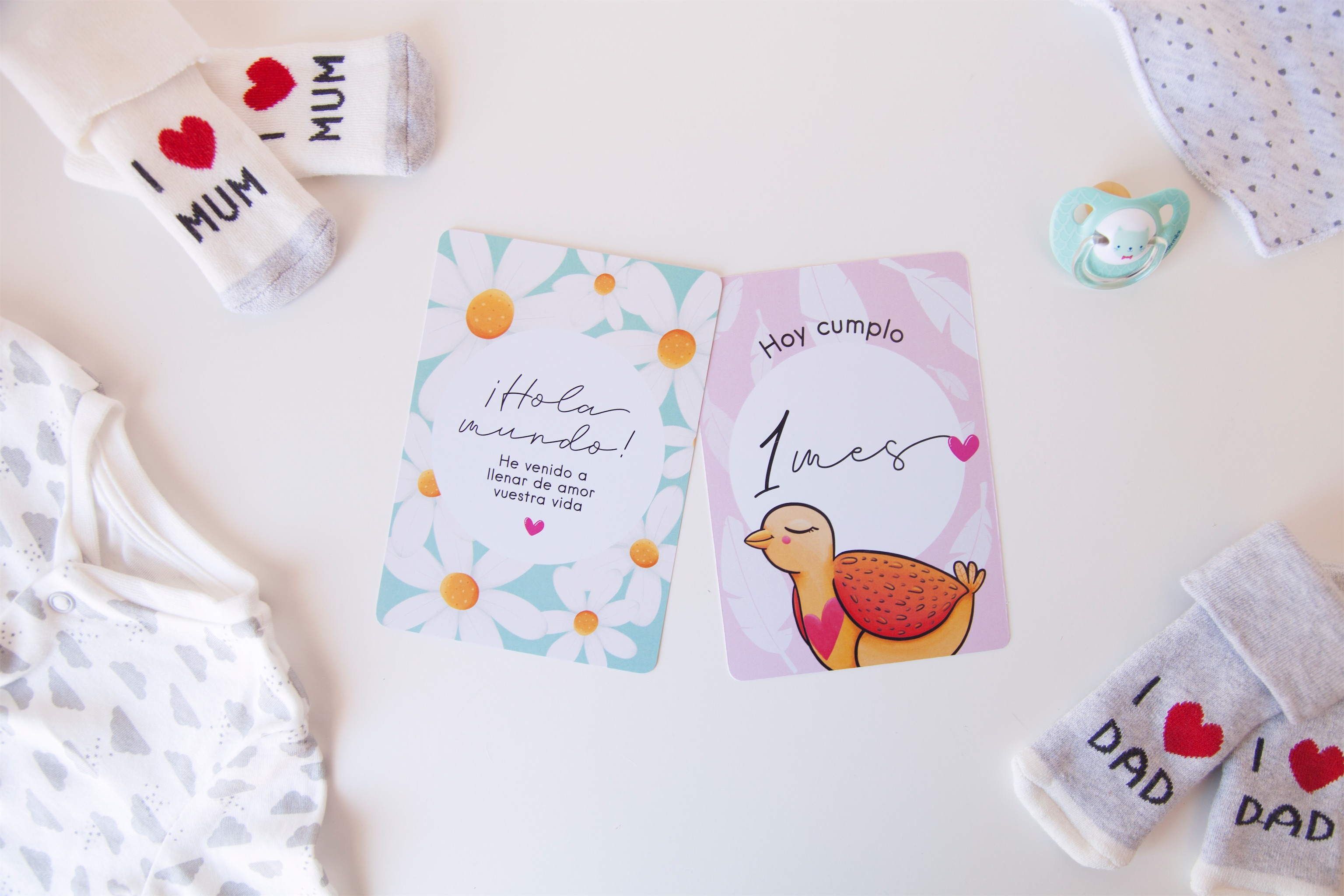 THE WILD ROCKS – baby cards 03