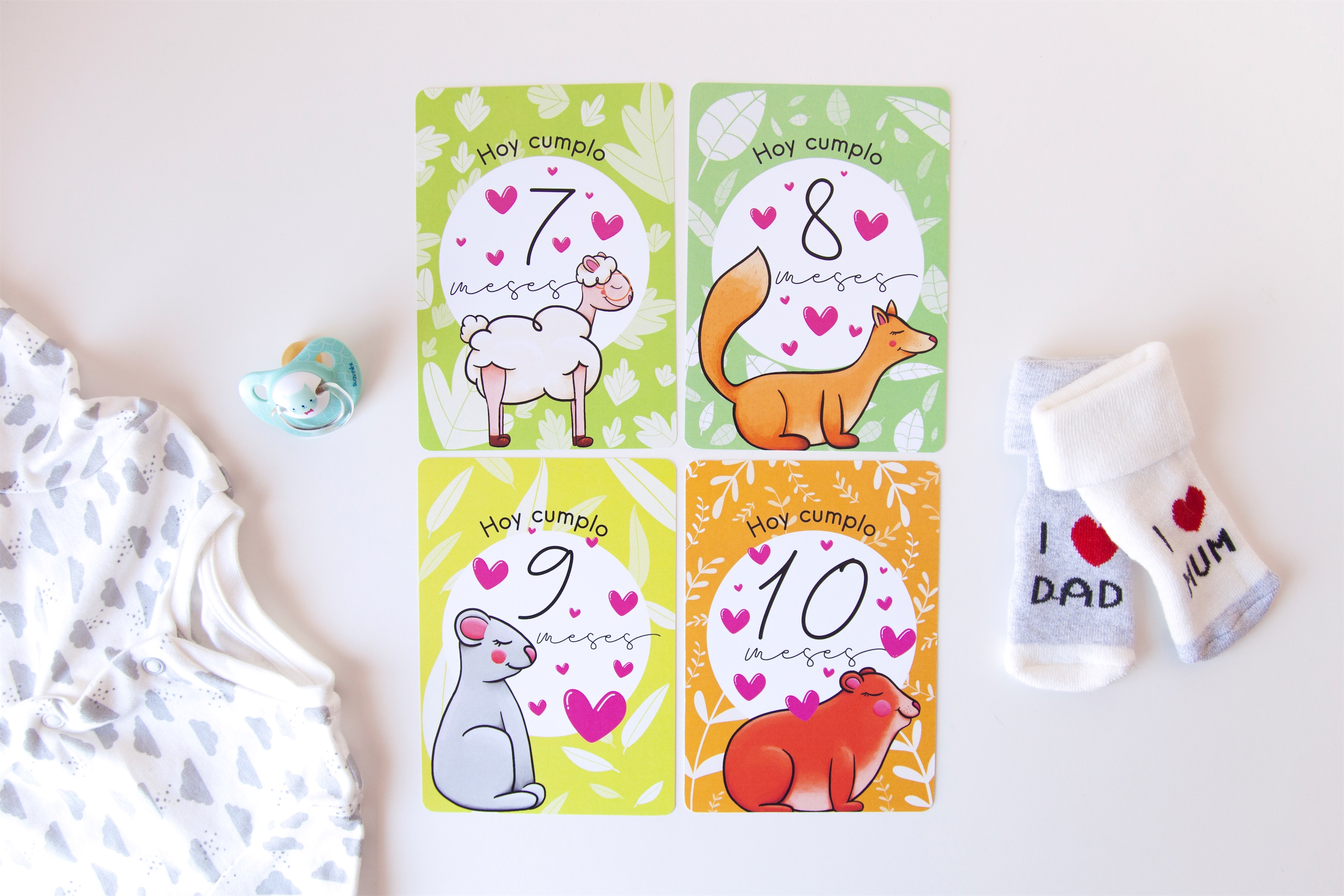 THE WILD ROCKS – baby cards 19